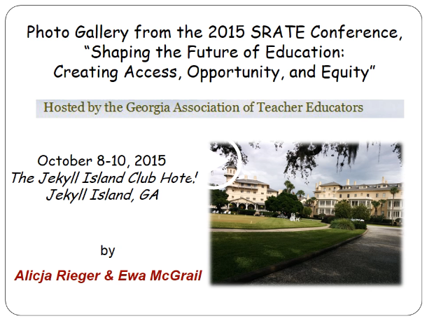 Thumbnail of 2015 SRATE                     conference slide show